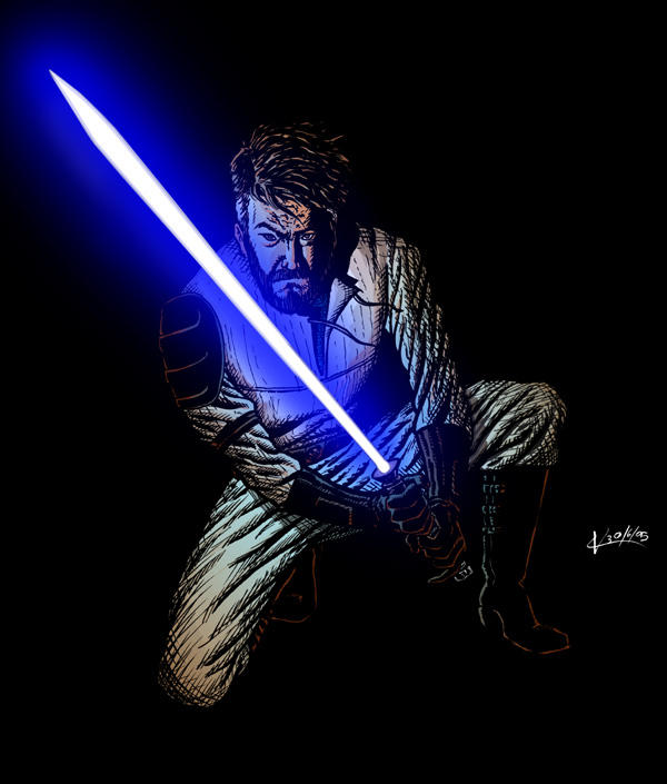Kyle Katarn, colors-a by VikThor