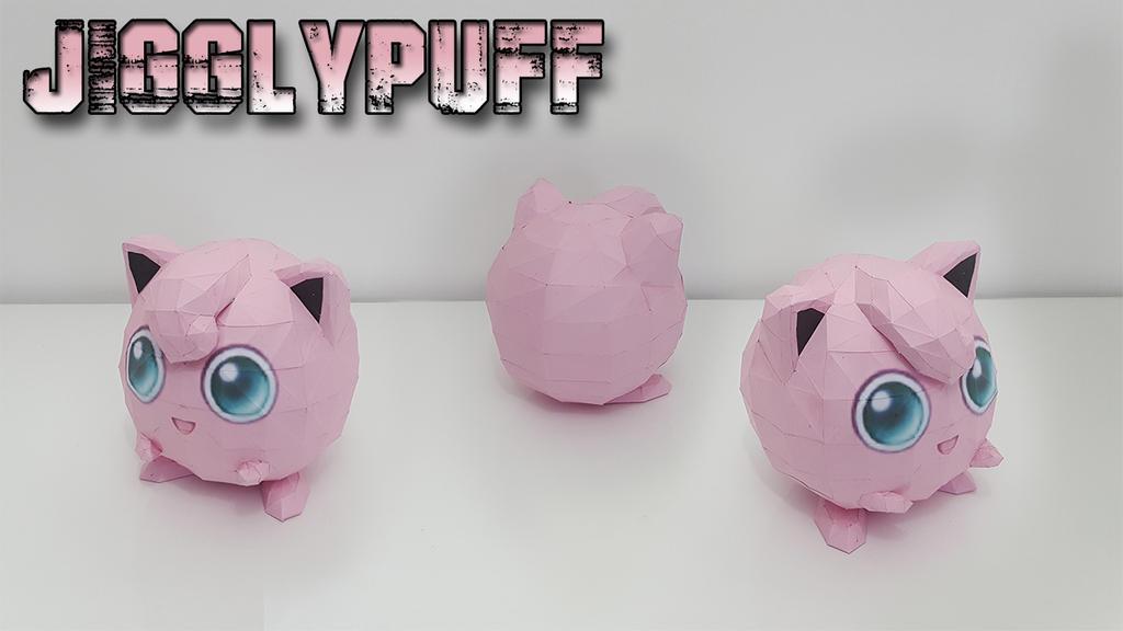 Papercraft Jigglypuff Youtube Psychologyarticlesfo
