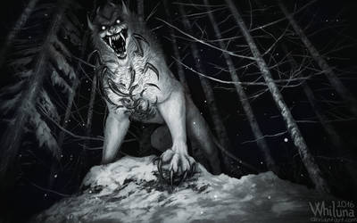 Deep in the nope forest by Whiluna