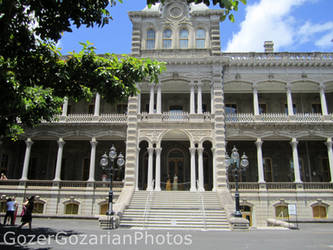 Iolani palace by GozerGozarian
