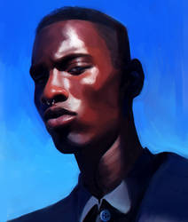 adonis bosso portrait by sweet-shop