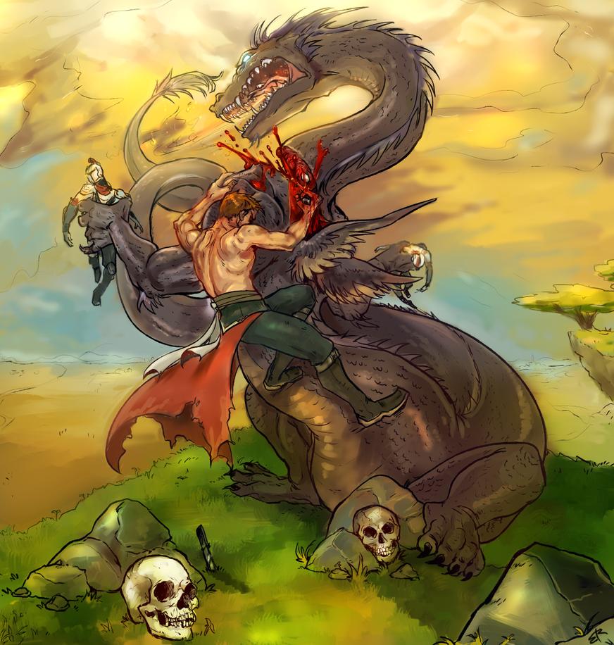 slain by sweet-shop