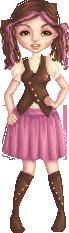 Steampunk Schoolgirl by Pentiful