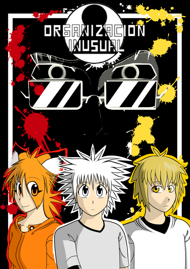 Organizacion inusual comic portada by danielevel