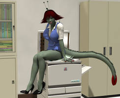 Career Day: Lala by shadowblade316