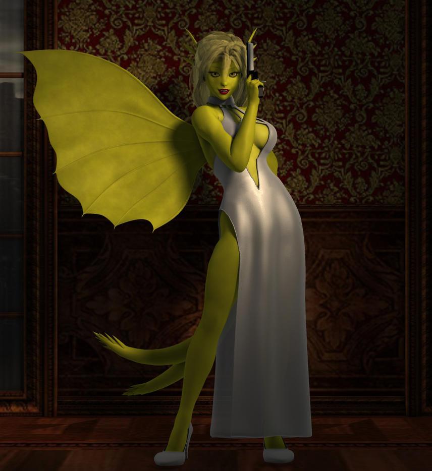 Miss Goldsnatch by shadowblade316