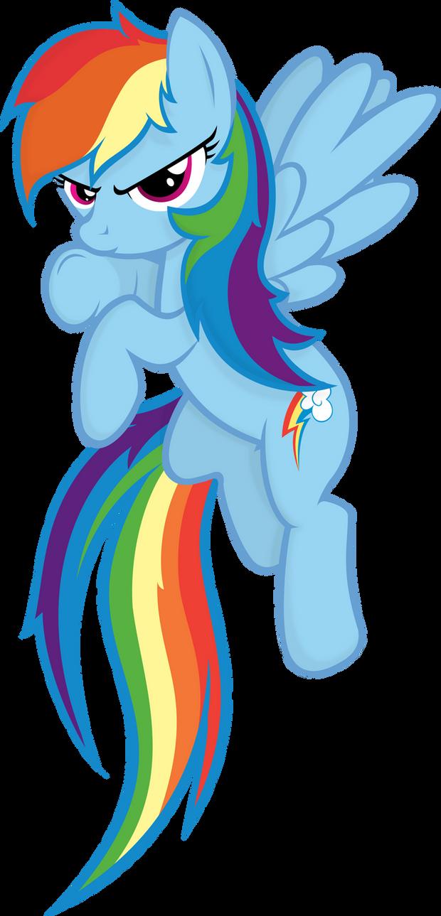 Rainbow Dash by Godoffury