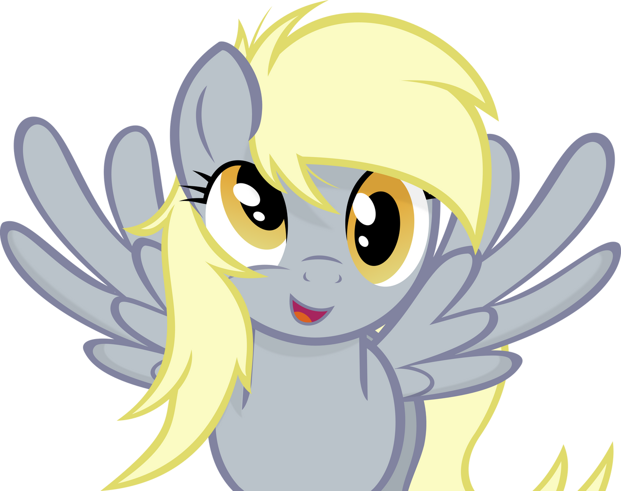 Derpy Hooves Scrunchy Face Derpy Hooves by Godoff...