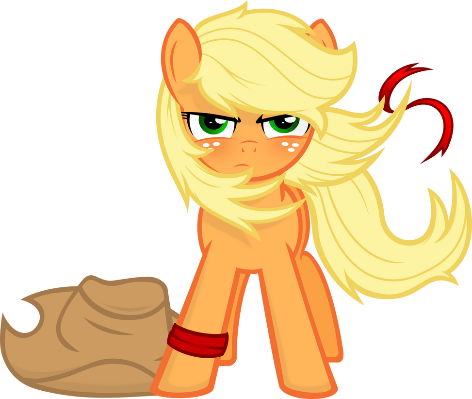 Applejack Version 2 by Godoffury
