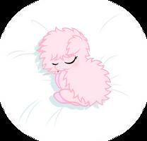 Baby Fluffle Puff -sleeping- by Godoffury
