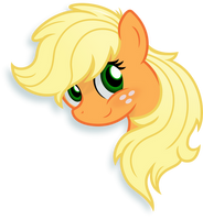 Applejack Portrait by Godoffury