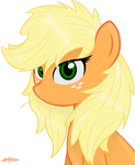Applejack - Loose hair - by Godoffury