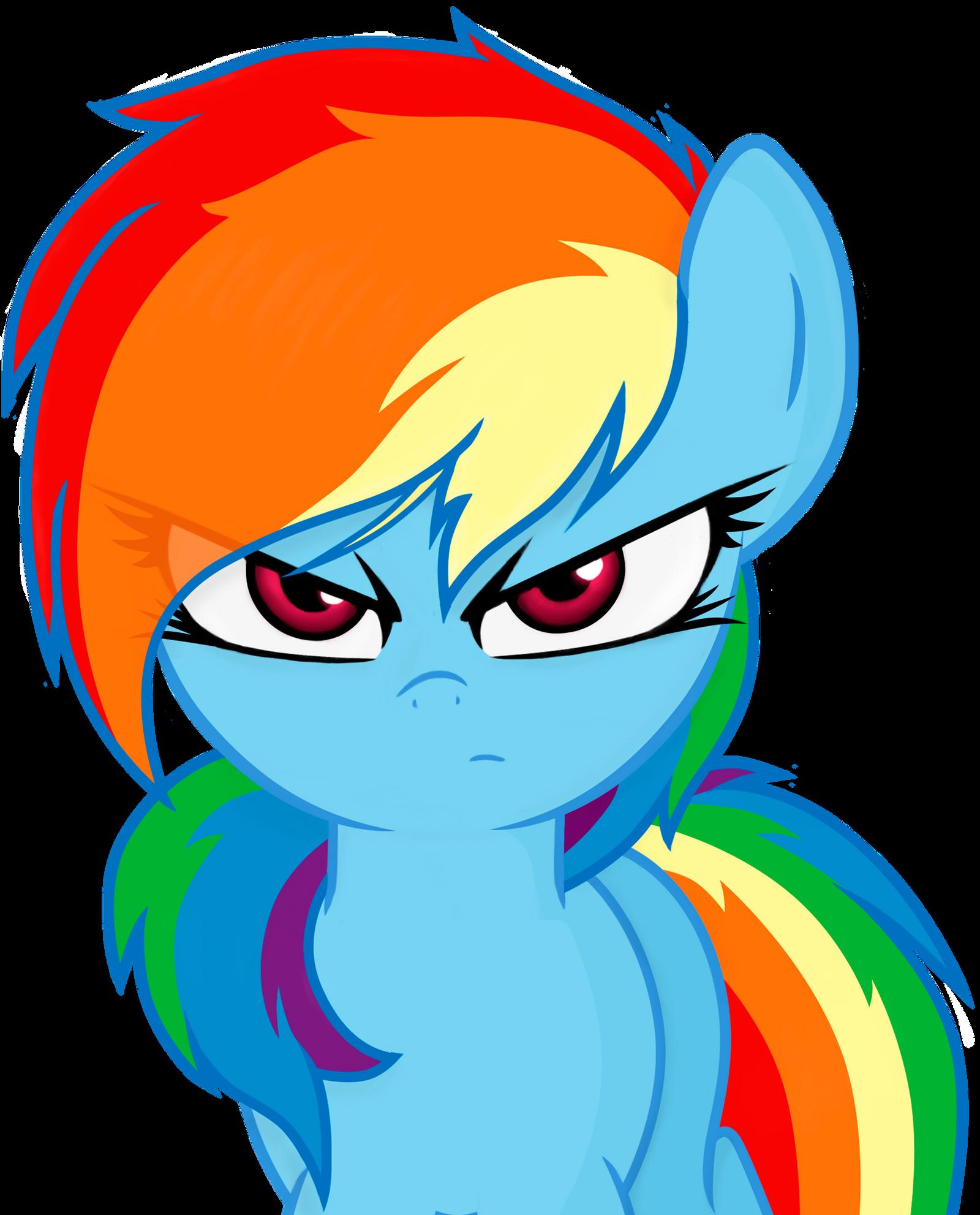 Rainbow Dash IV by Godoffury