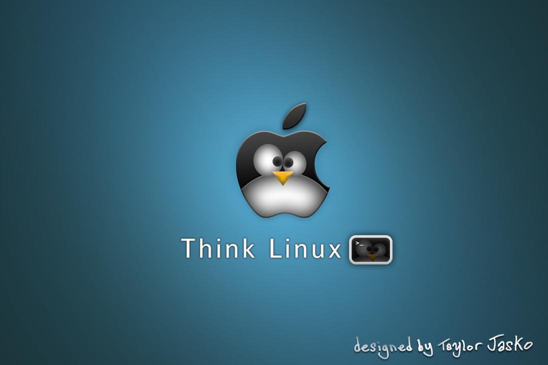 think linux wallpaper -#main