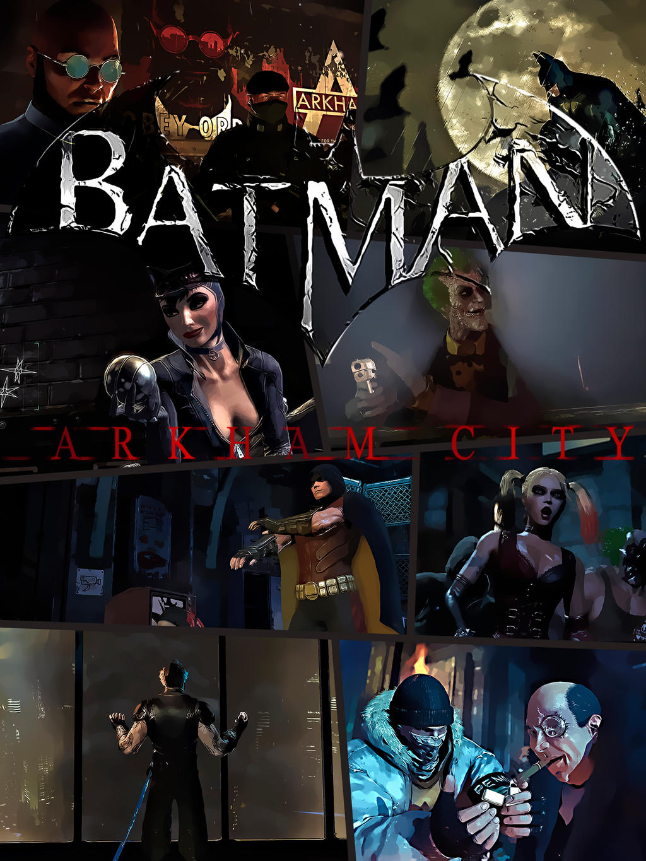 Batman arkam city porn sex videos