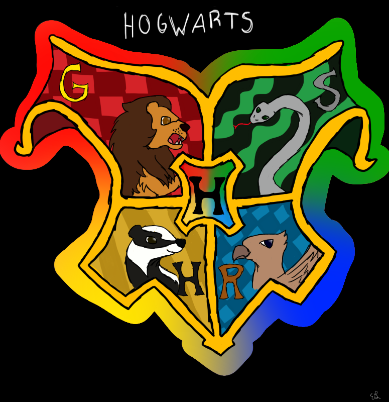 Hogwarts House Crest by Cloudkicker4Me