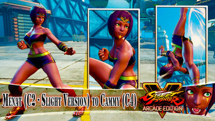 [SWAP MOD] MENAT (SLIGHT VERSION) to CAMMY (C4) by DanteSDT