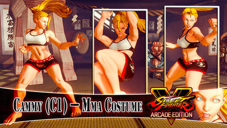 [MOD] CAMMY (C1) - MMA COSTUME by DanteSDT