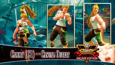 [MOD] CAMMY (C1) - CASUAL OUTFIT by DanteSDT