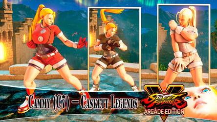 [MOD] CAMMY (C7) - CASKETT LEGENDS by DanteSDT