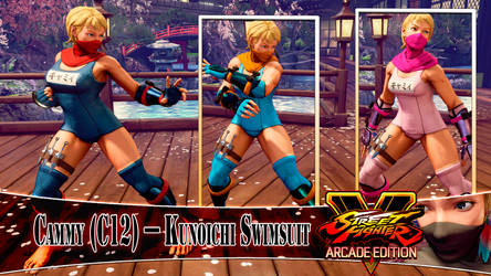 [MOD] CAMMY (C12) - KUNOICHI SWIMSUIT by DanteSDT