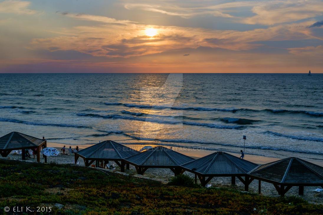 plages israel, Nordau beach, plage separée tel aviv, hof hanifrad tel aviv