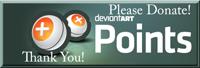 Points Donation Stamp by PointsForDevNews