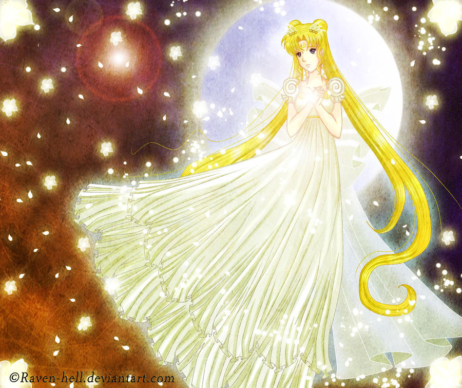 princess serenity by Yoru-Kuraihime