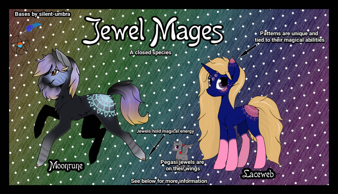 Jewel Mages - Closed Species Info (UPDATED 5/29!)