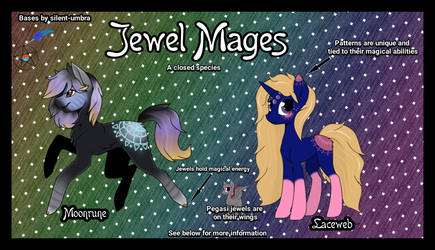 Jewel Mages - Closed Species Info (UPDATED 5/29!) by AzurasQuill