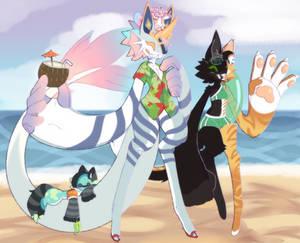 Poseidon's Summer Outfit