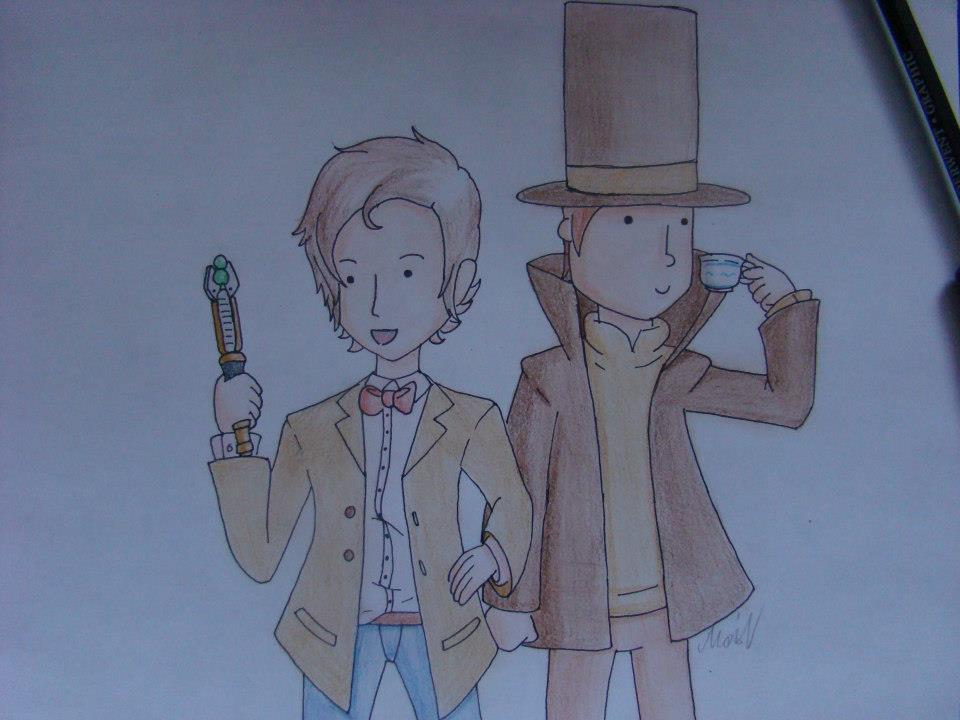 The Doctor and Professor by MysteriousHat