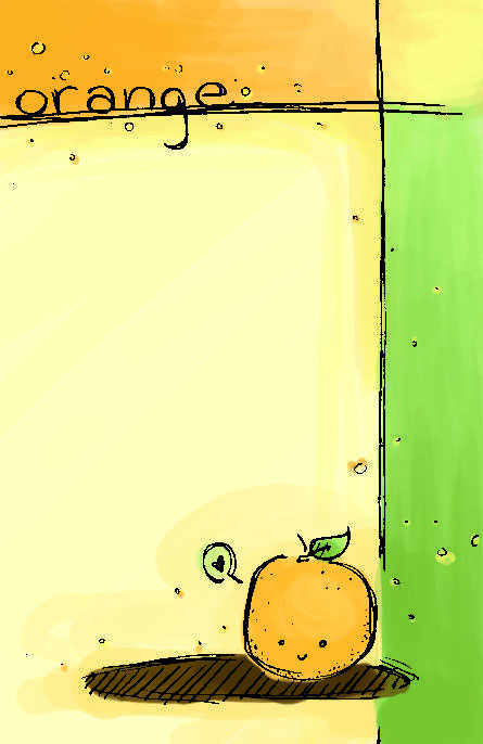 orange by oKaede
