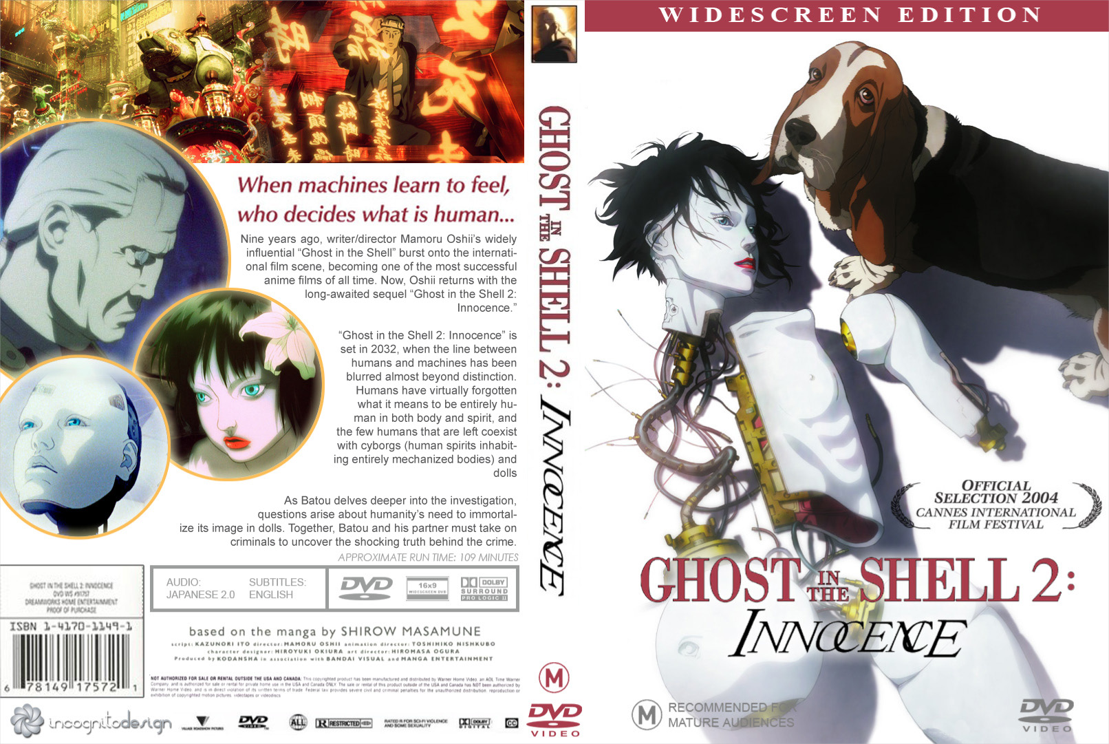Ghost In The Shell 2 Dvd Cover By Mickeyg13 On Deviantart
