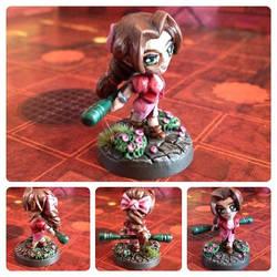 Aeris Aerith Miniature Final fantasy 7 VII