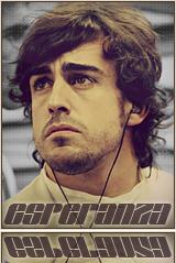 Sad Fernando Alonso