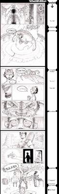 Tzuf's B-Day comics 2011 by croovman