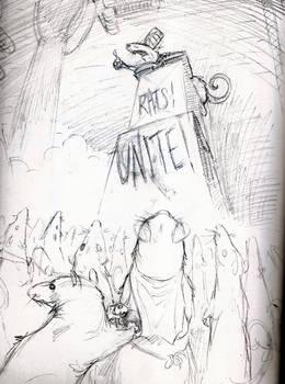 RATS! UNITE!!! (sketch)