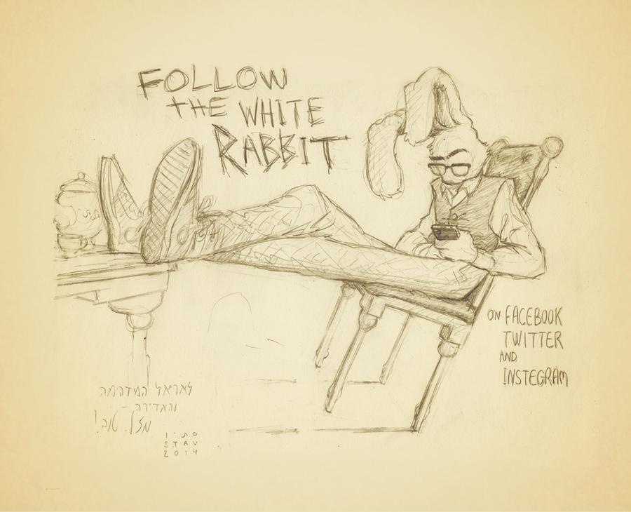 #FollowWRabbit by croovman