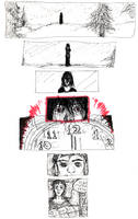 BloodEyes comics 1 by croovman