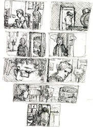 BloodEyes comics 2 by croovman