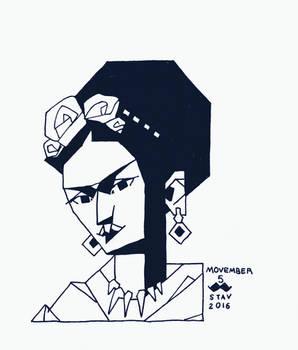 Movember#5 - Frida Kahlo