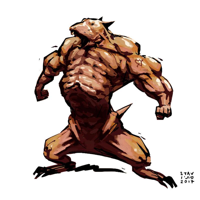 Dark Rats by croovman