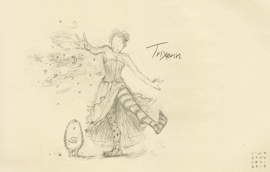Trixters#12B - Trixerin by croovman
