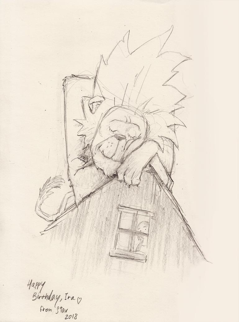 House Lion by croovman