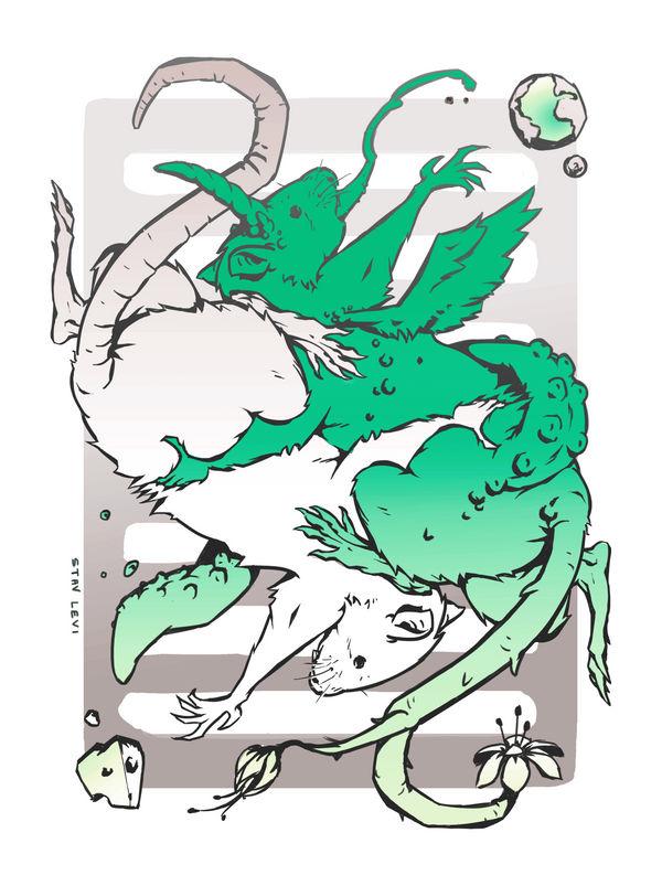 RATS! Card Deck by croovman