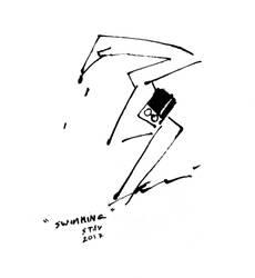 Ink Swimmer by croovman