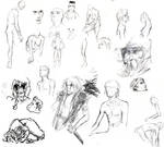 Nudies and Sketchies COMBINED