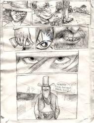 Strange Protagonist Comics p.1 by croovman