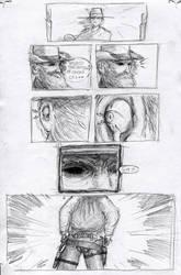 Strange Protagonist Comics p.2 by croovman